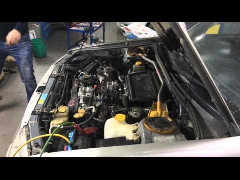 Subaru Forester запуск контрактного двигателя EJ205