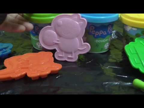 Play Doh Activity : Peppa pig Picnic dough set