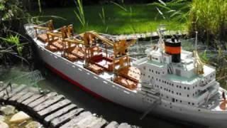 NEDLLOYD SANTOS CARGO VESSEL RC SHIP BOAT