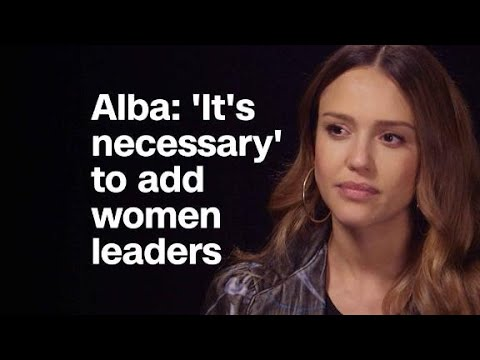 Jessica Alba: 'It's necessary' to have mor...