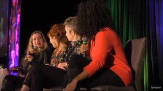 Montreal Con Kim Rhodes Rachel Miner Lisa Berry and Ruth Connell FULL Panel 2018 Supernatural