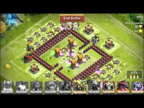 Castle Clash New Patch Hero Expedition Warehouse Trade Merits IOS Rank 2