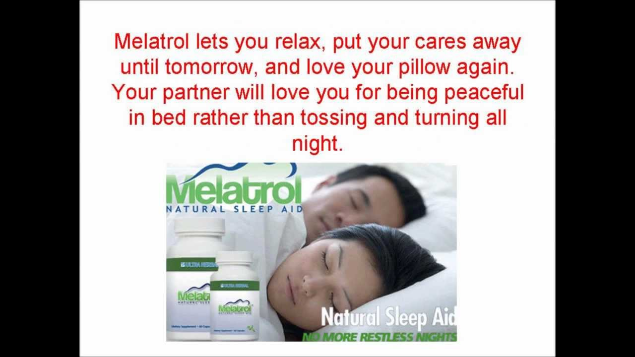 Melatrol Sleep Aid Review Youtube