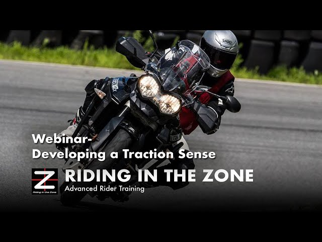 Webinar - Managing Traction on a Motorcycle