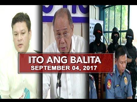 UNTV: Ito Ang Balita (September 04, 2017)