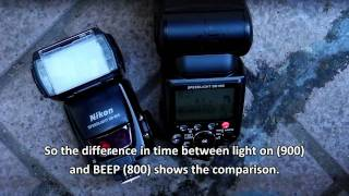 nikon strobist flashes - SB 900 vs SB 800 vs SB 26