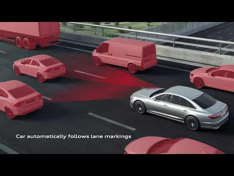 The new Audi A8 AI traffic jam pilot