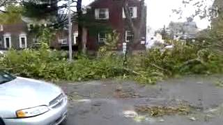 Hurrican Sandy Destroy Rosedale Queens