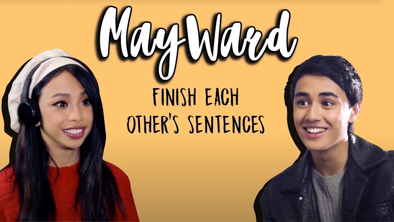 Finish Each Other's Sentences Challenge with MayWard!