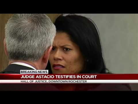 Judge Astacio Takes Stand at Hearing on Violating her Conditional Discharge