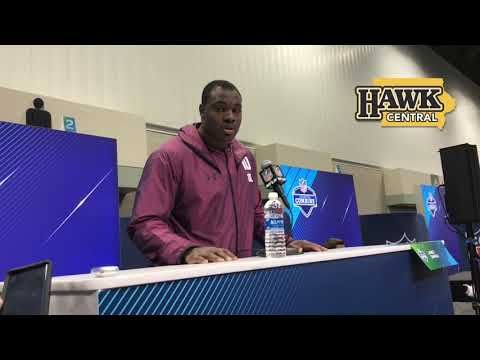 How did James Daniels decide to leave Iowa a year early?