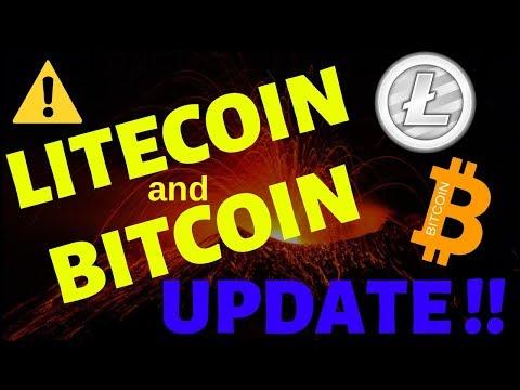 LITECOIN and BITCOIN UPDATE, litecoin bitcoin t.a.,litecoin bitcoin price, ltc bts news