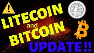 LITECOIN and BITCOIN UPDATE, litecoin bitcoin t.a.,litecoin bitcoin price, ltc bts news