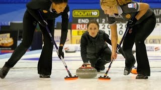 CURLING: RUS-DEN Euro Chps 2015 - Women  Semi Final