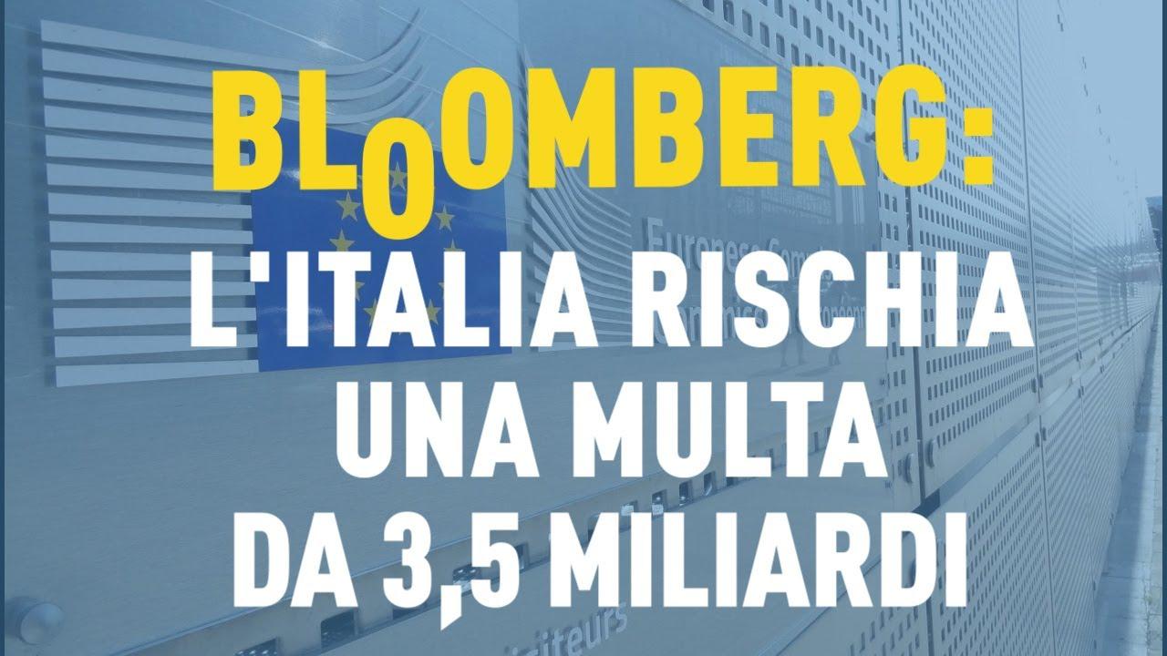 PTV News - 28.05.19 - Bloomberg: l'Italia rischia una multa da 3,5 miliardi