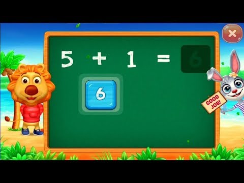 Learn 1234 For Kids In Easy Way Adding Puzzle Math Kids Games For Kids.