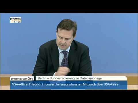Regierungssprecher Steffen Seibert zu Merkels Sommerinterview am 15.07.2013