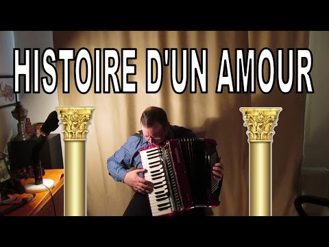 Histoire d'un amour on Accordion
