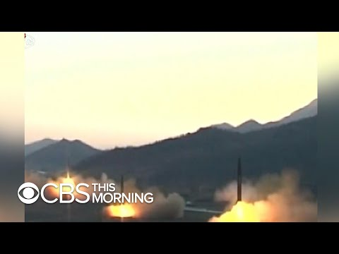 North Korea sends a message with launch of short-range projectiles