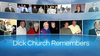 Dick Church Remembers: A Mayor's Farewell