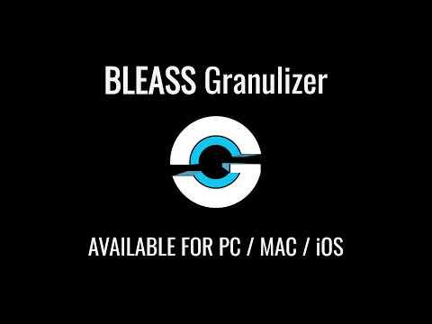 BLEASS Granulizer #Plugin #Demo