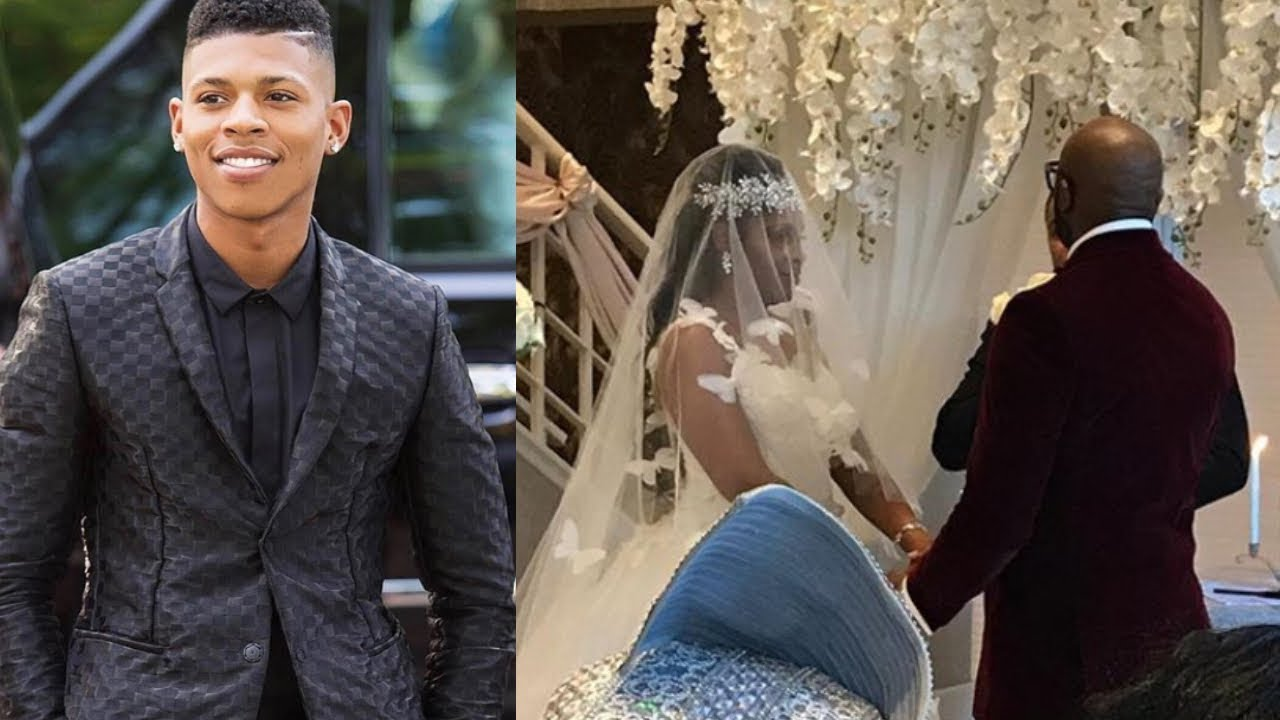 Empire Star Bryshere Gray Walked His  Mom down the Aisle As She Is Suffering From...