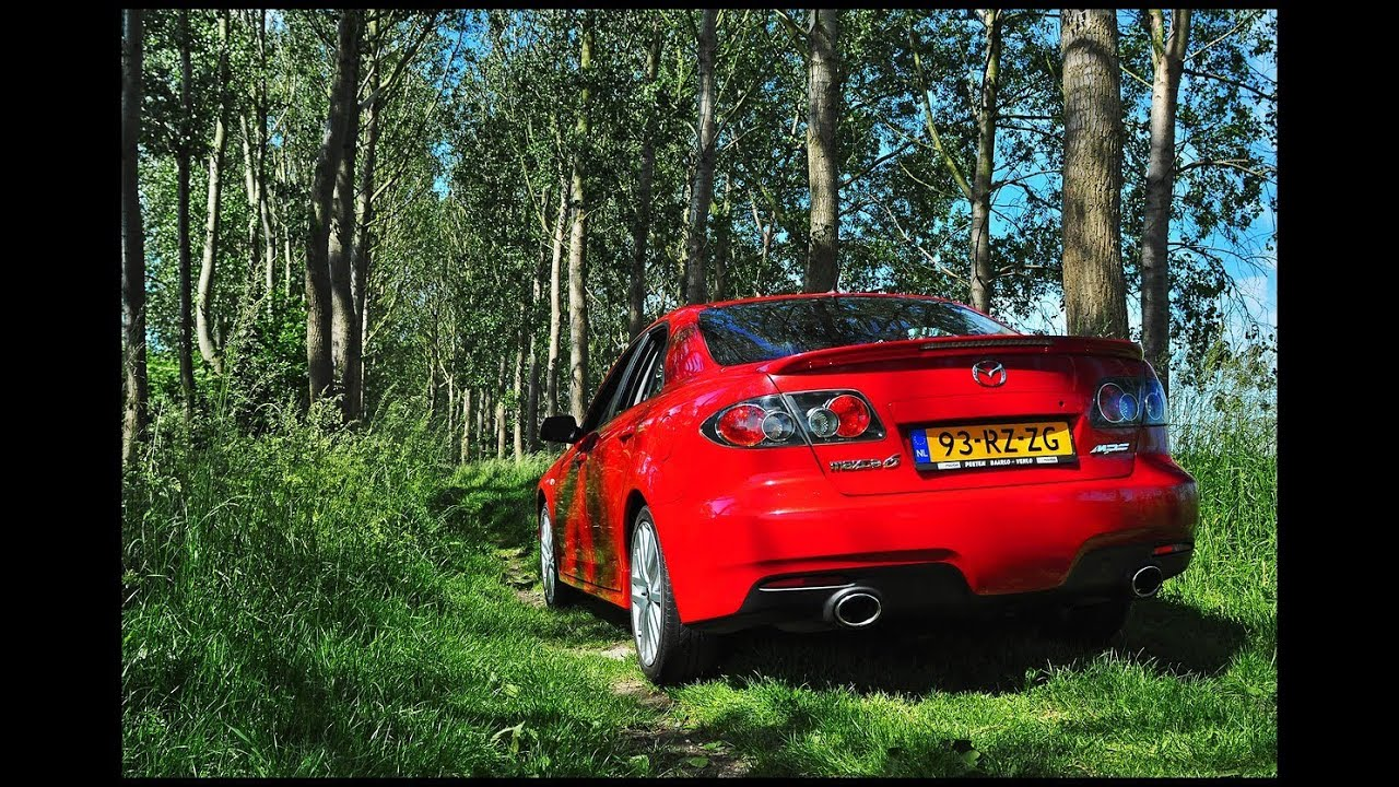 my lovely 2005 mazda 6 mps in action. - youtube