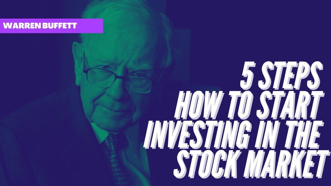 5 Steps how to start investing in the stock market | Warren Buffett