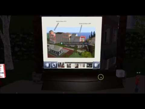 Supporting a Course with a Virtual World Library for the Community Virtual Library in Second Life