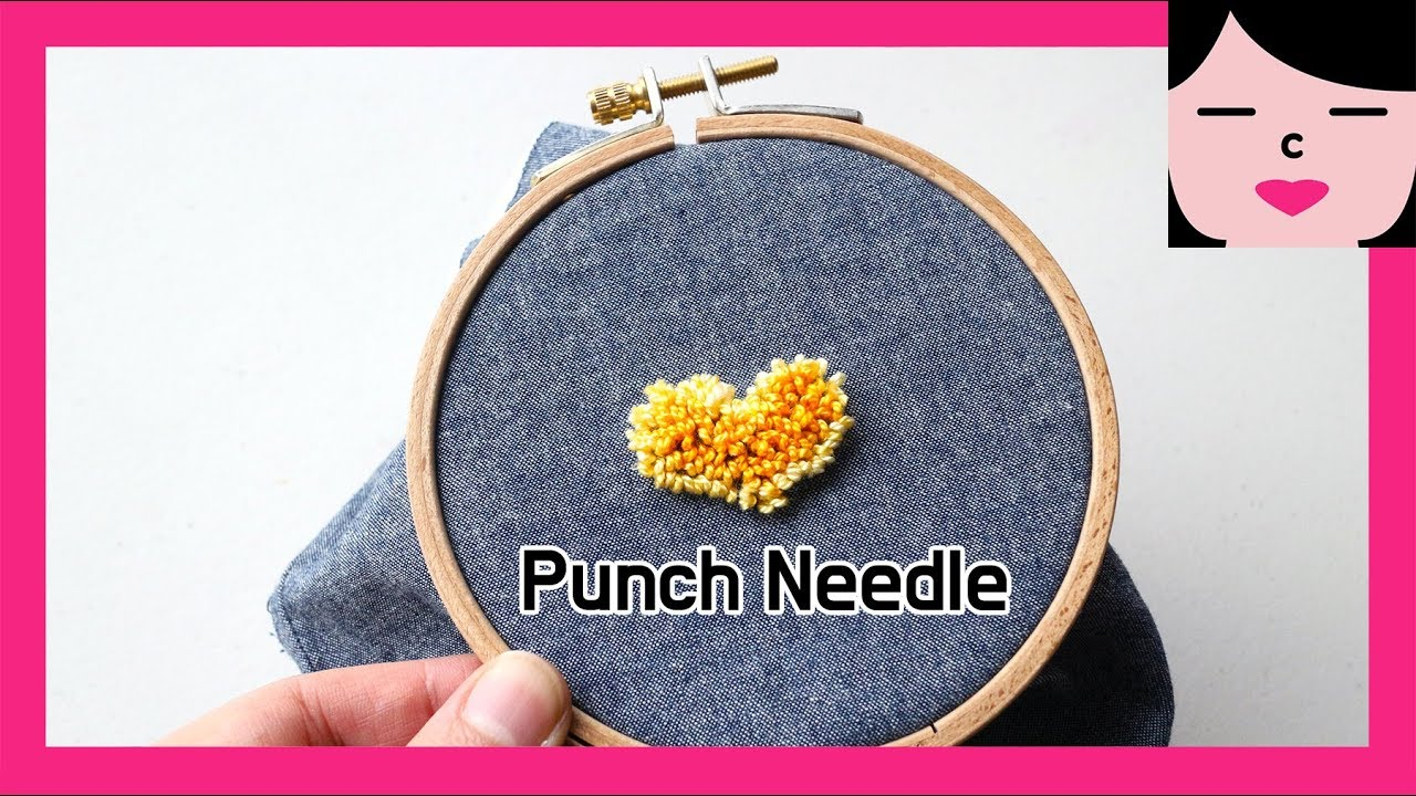 picture relating to Free Printable Punch Needle Patterns called punch needle embroidery guide for inexperienced persons 펀치니들 자수