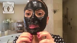מסכת פחם מתקלפת ניקוי רעלים מעור הפנים charcoal peeling mask