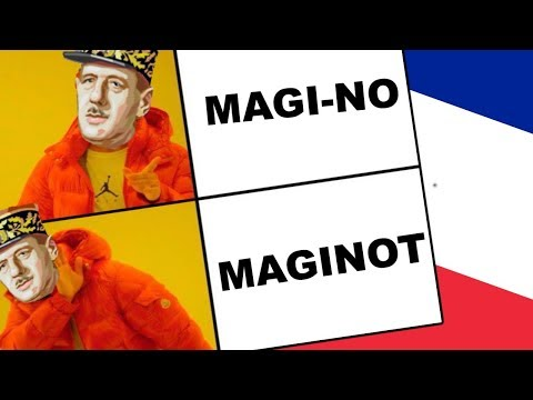 Maginot? More like Magi-NO - Hearts Of Iron 4 Super France (ISP AND CHILL)