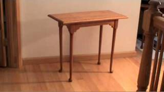 Handmade Solid Cherry Side Table From James Redway