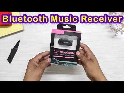 Car Bluetooth Music Receiver Unboxing and Review in Hindi