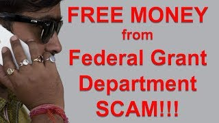 I'm Getting $11,300.00 From The Federal Grants Department