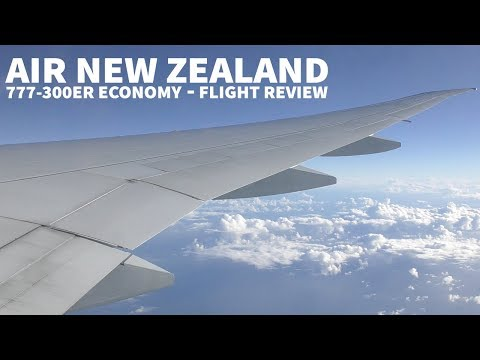 Air New Zealand 777 Economy Flight Review