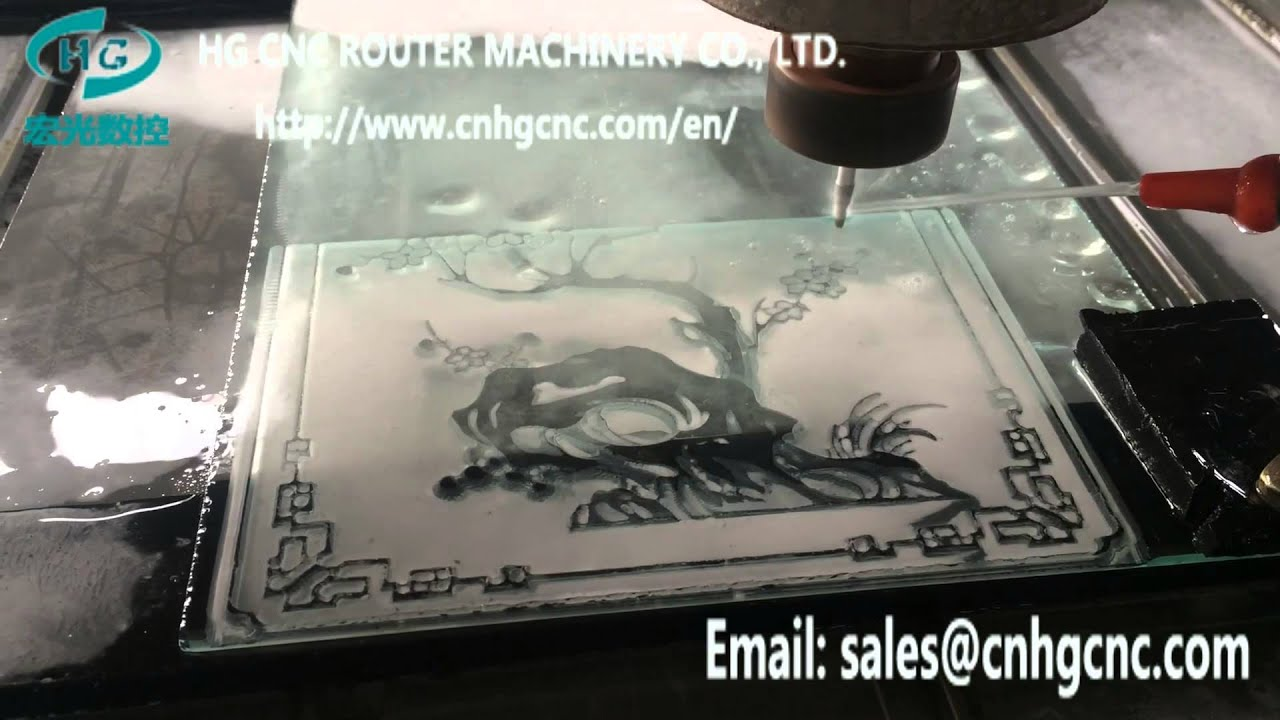 How Hg 1325 Stone Cnc Router Engraving Machine Work On