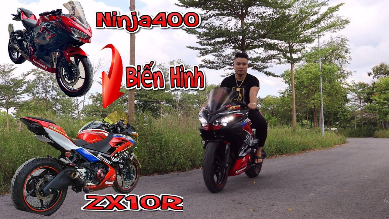 Lột Xác Ninja400 Thành 1 Chiếc Xe Cực Ngầu Như Dòng 1000cc   Tài Pô Độ