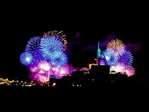 Burj Al Arab Dubai New Year 2014 Fireworks! Breaki