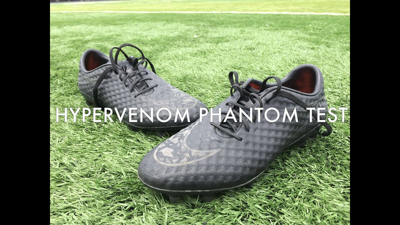 0e99259a7 Nike Hypervenom Phantom Academy Pack Blackout Test - ABS FC - YouTube