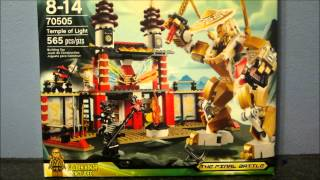 Lego Ninjago Temple of Light set review