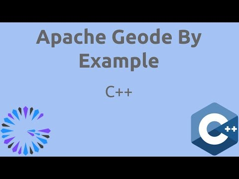 Apache Geode By Example - #15 Geode Native (C++ Basics)
