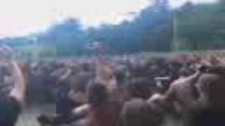 The Sorrow - Death from a lovers hand - Wall of death - Live @ Masters of Rock 2009