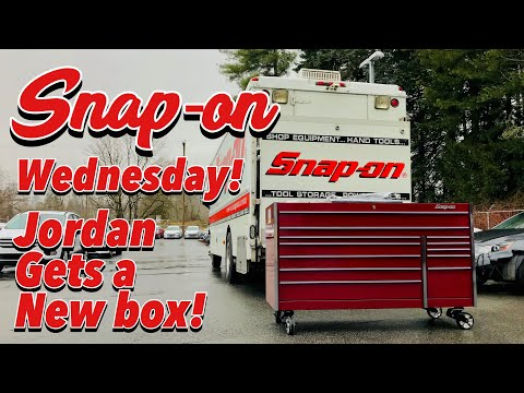 SNAP-ON WEDNESDAY - New Box In The Shop!