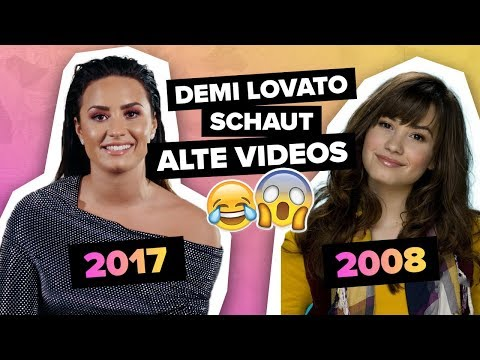 Demi Lovato reagiert auf alte Musikvideos von sich, Justin Bieber & Rihanna  | Digster Pop Throwback