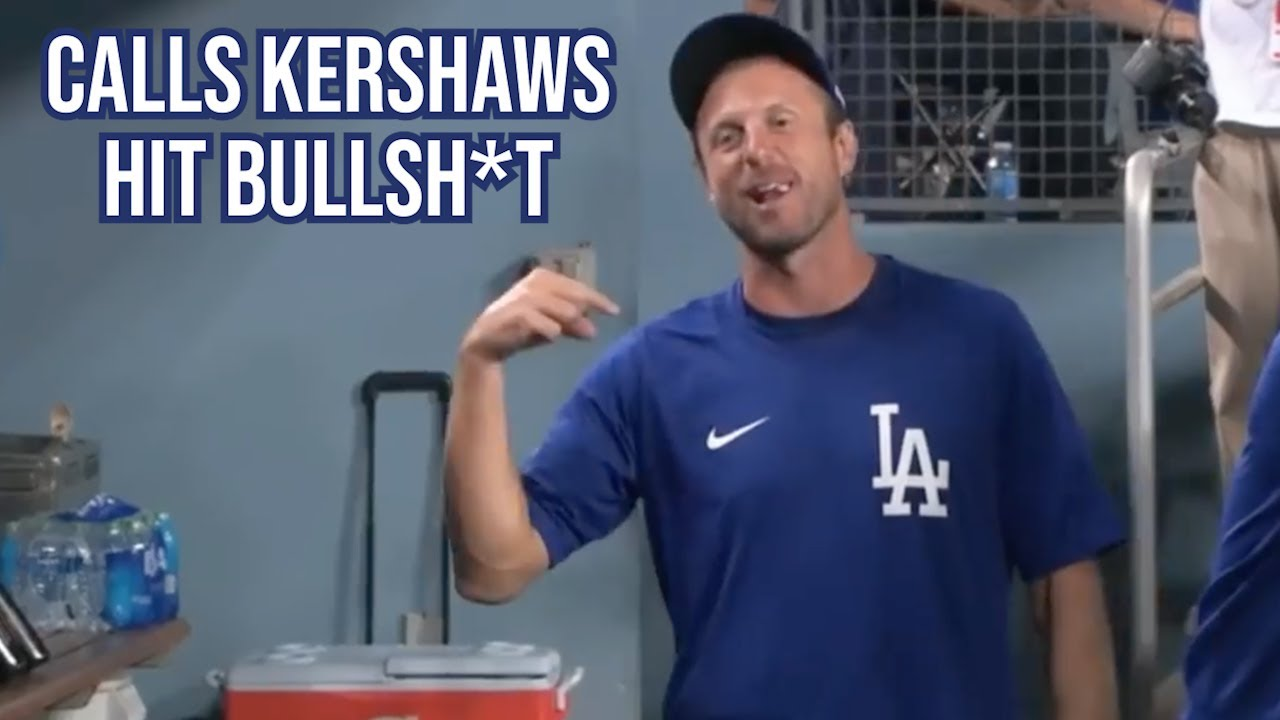 Download Scherzer gets mad after Kershaw gets an easy hit, a breakdown