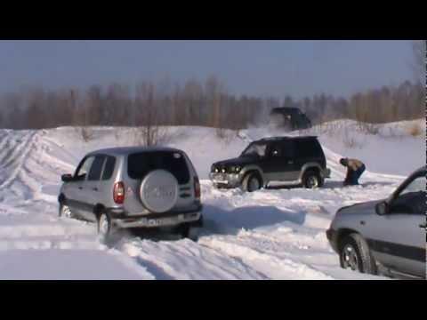 Езда по снегу на кроссоверах и внедорожниках