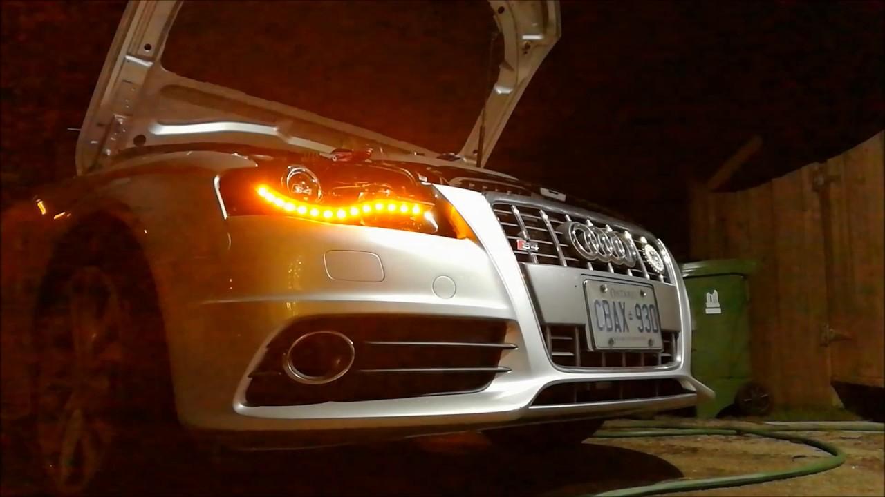PREMIUM Adapter semi dynamischer Lauf Blinker Plug/&Play für Audi A4 B8 8K Avant