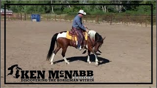 Ken McNabb Emotional Control | How to Calm the Anxious High Headed Horse Through Head Elevation