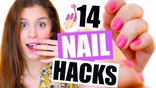 14 GENIALE NAIL HACKS, die jedes Mädchen kennen sollte! ♡ BarbieLovesLipsticks